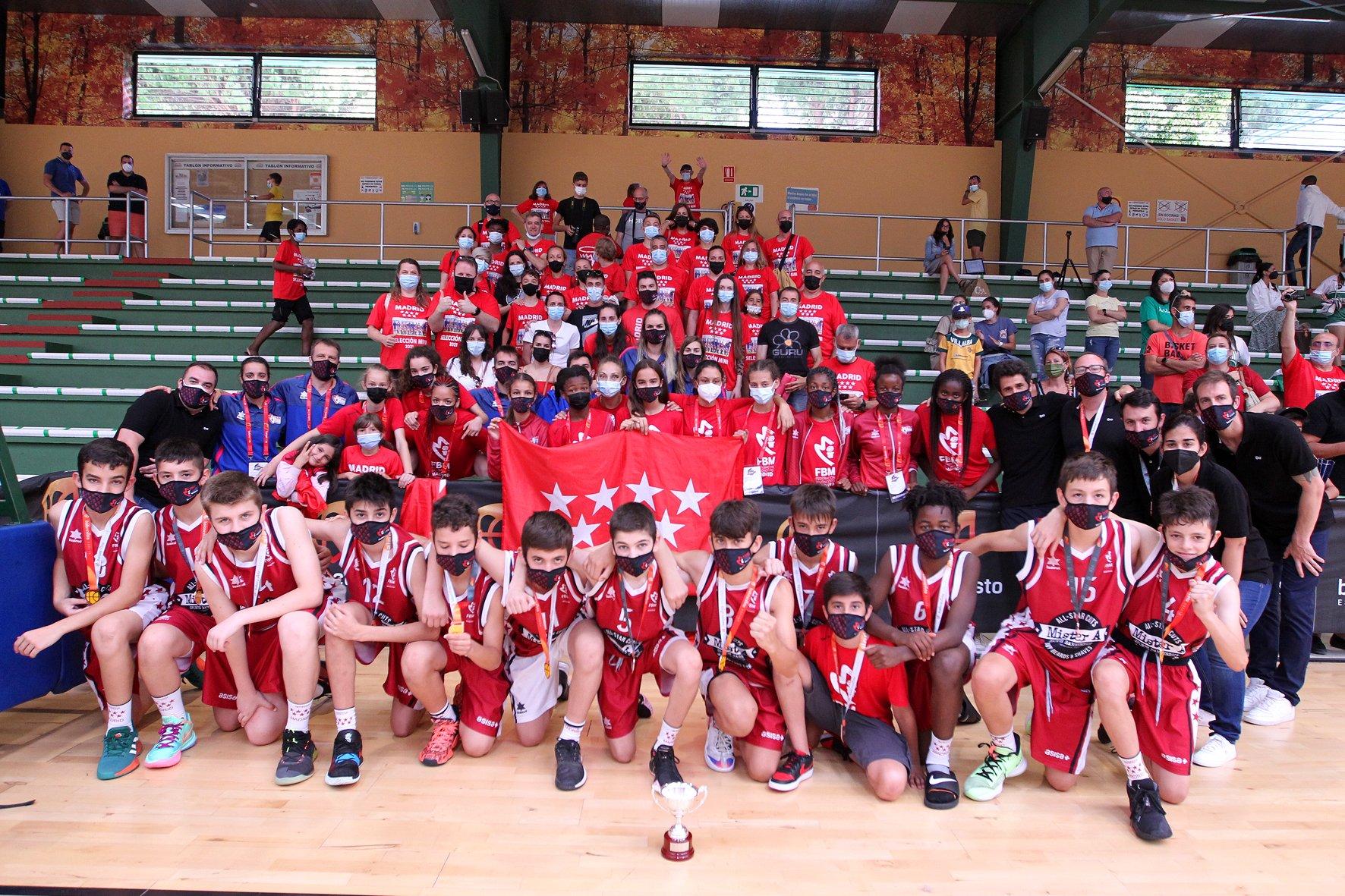 Campeonato de España de Selecciones Mini: Bronce para la masculina