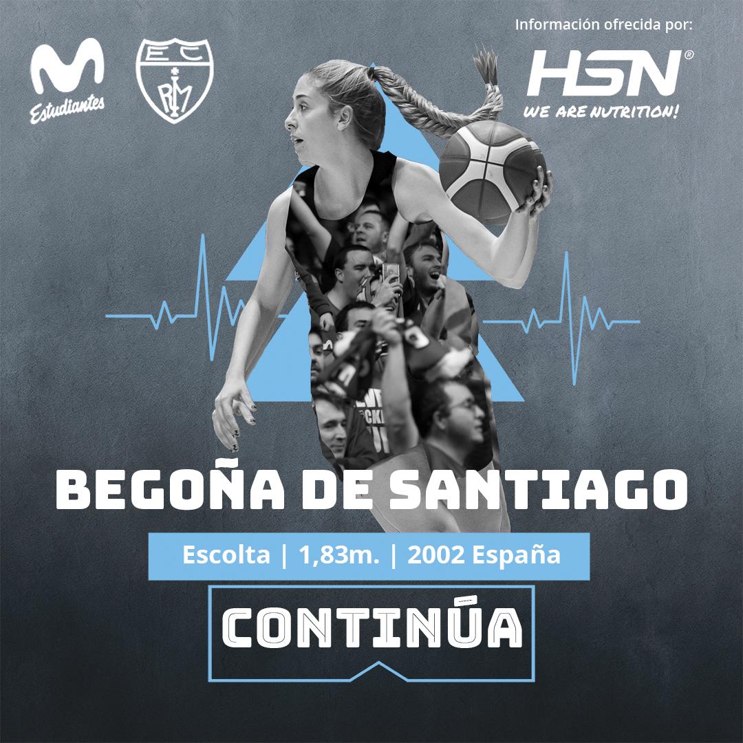 LF: Begoña de Santiago seguirá con Movistar Estudiantes en la 2021-22