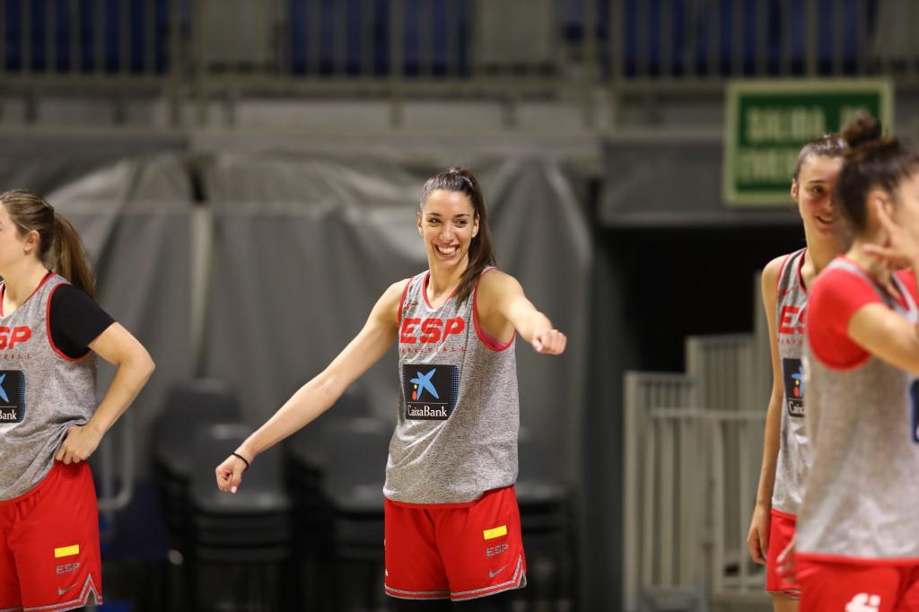Laura Quevedo, a preparar los Juegos con España