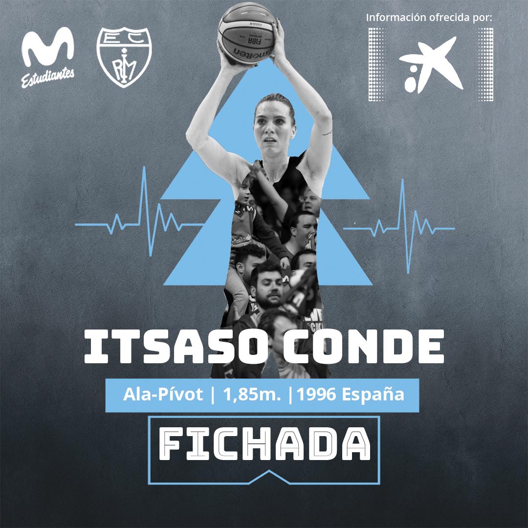 Itsaso Conde, nueva jugadora de las Women in Black