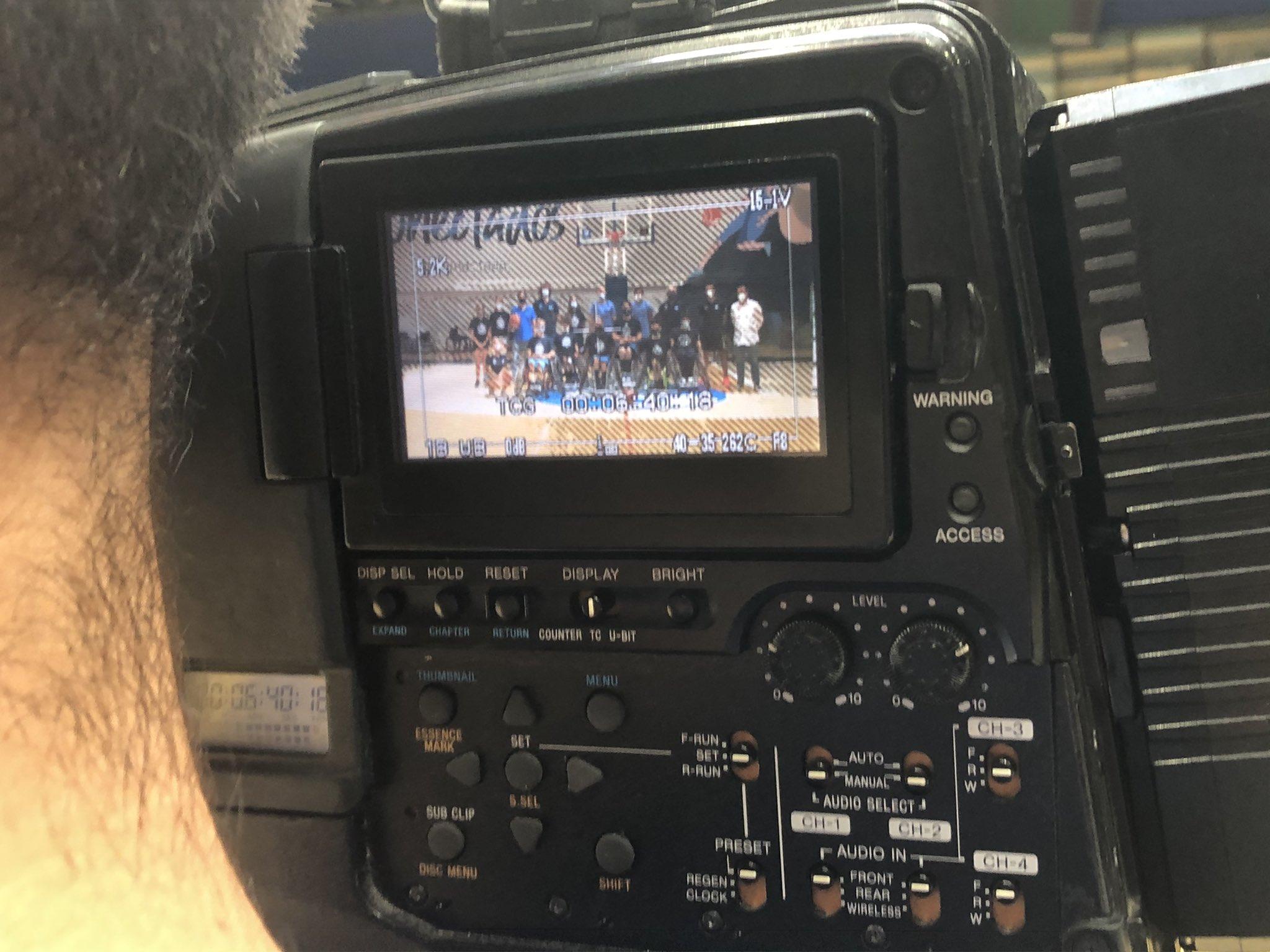 Telemadrid visitó el EstuCamp de baloncesto en silla de ruedas