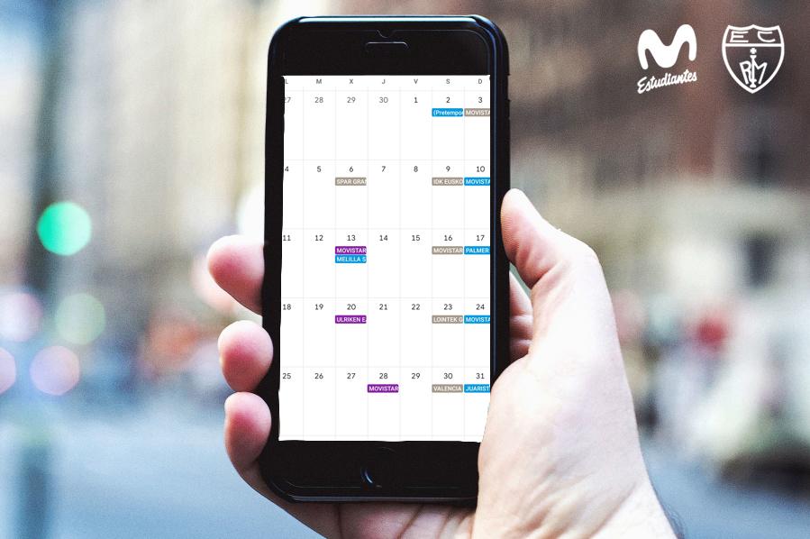 Calendario Movistar Estu 2021-22 en tu móvil
