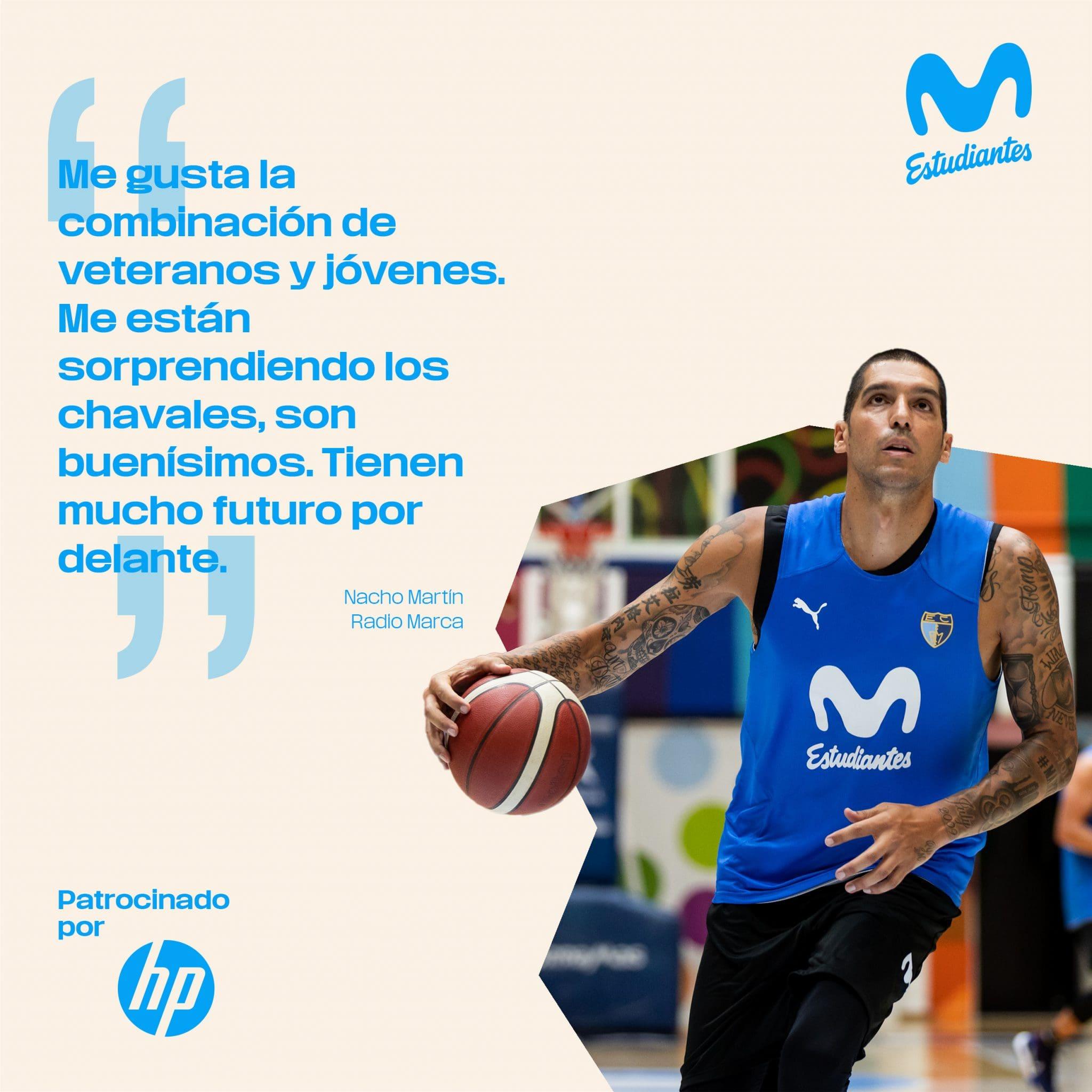 Nacho Martín en Radio Marca: «siempre hay presión en deporte»