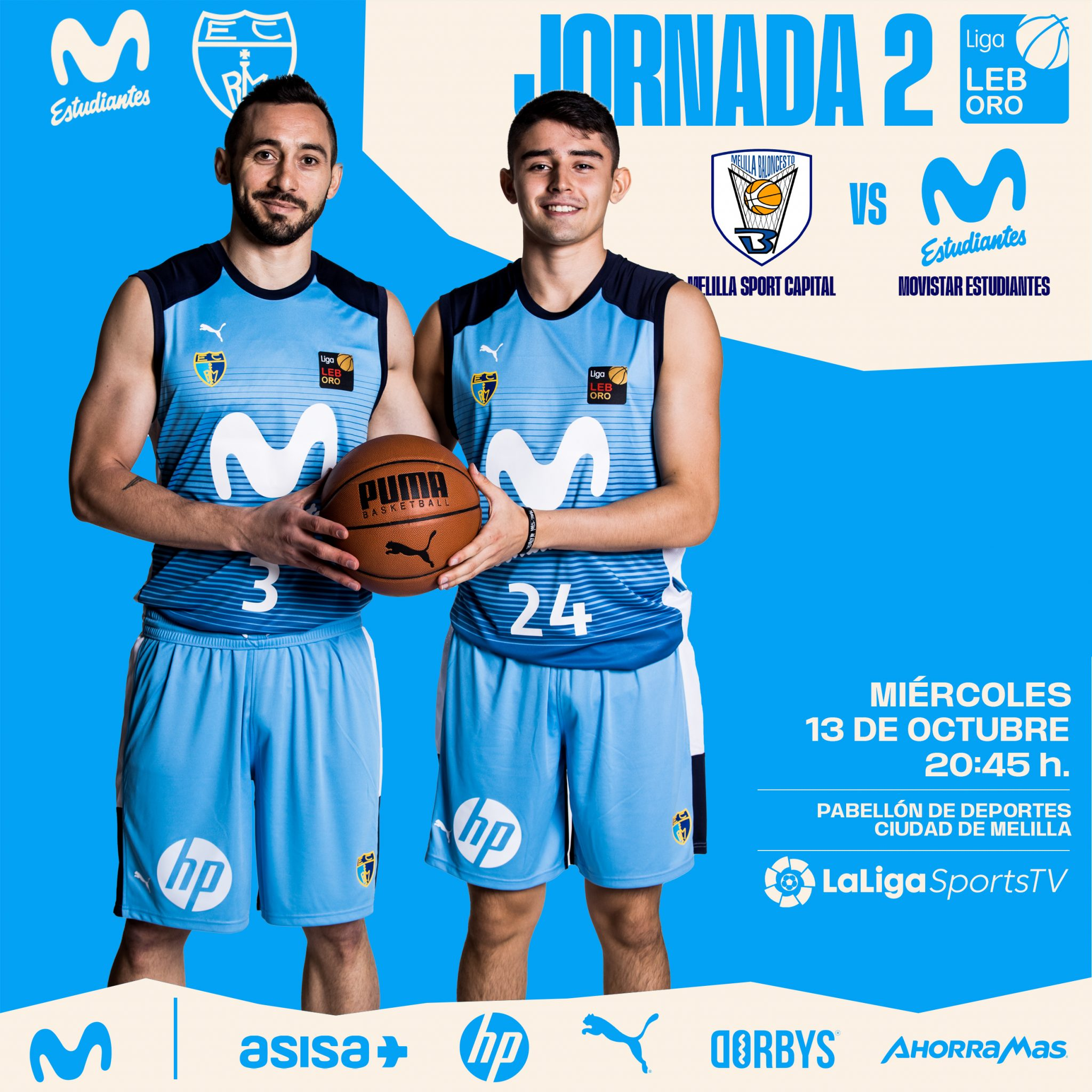 LEB: Melilla, el primer viaje (miércoles, 20:45h, LaLigaSportsTV)